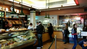 The deli part of the restaurant